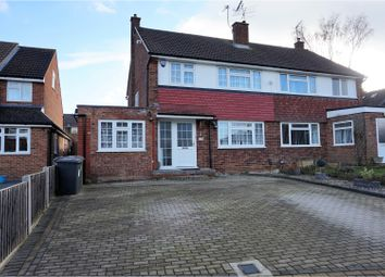 Thumbnail 4 bedroom semi-detached house for sale in Middle Furlong, Bushey