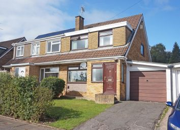 Thumbnail 3 bedroom semi-detached house for sale in St. Ambrose Close, Dinas Powys