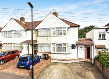 Thumbnail 3 bed semi-detached house for sale in Fernside Avenue, Feltham