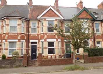 Thumbnail 3 bed terraced house for sale in Waverley Road, Exmouth, Devon