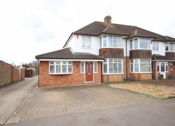 Thumbnail 4 bed semi-detached house for sale in Woodgreen Road, Luton