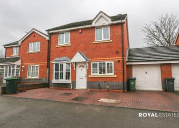 Thumbnail 4 bed detached house for sale in Opal Gardens, Oldbury