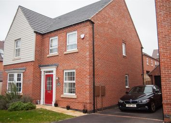 Thumbnail 4 bed detached house for sale in Fern Close, Coalville, Leicestershire
