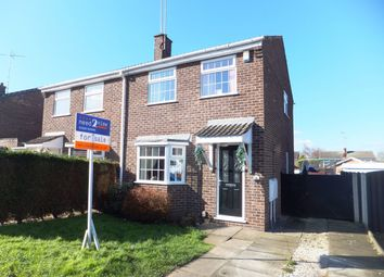 Thumbnail 3 bed semi-detached house for sale in Haycroft Close, Mansfield Woodhouse, Mansfield