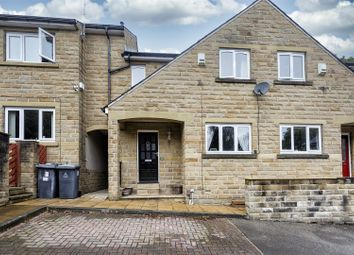 Thumbnail 3 bed terraced house for sale in Ellerslie Court, Edgerton, Huddersfield