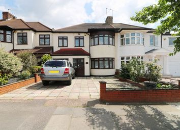 Thumbnail 4 bed semi-detached house for sale in Couchmore Avenue, Clayhall, Ilford