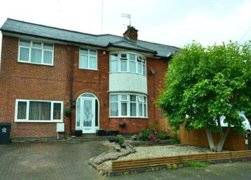 Thumbnail 5 bedroom semi-detached house for sale in Romway Drive, Evington, Leicester