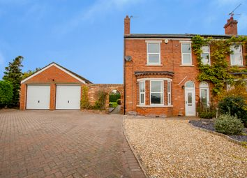 Thumbnail 3 bed semi-detached house for sale in Station Road, Beckingham, Doncaster
