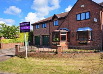 Thumbnail 5 bed detached house for sale in Kellington Court, Goole