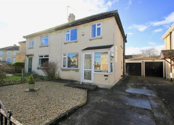 Thumbnail 3 bedroom semi-detached house for sale in Oolite Grove, Odd Down, Bath