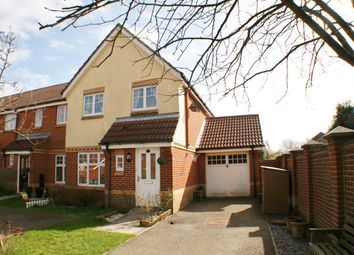 Thumbnail 3 bed end terrace house for sale in Kirton Close, Hawkinge, Folkestone Kent