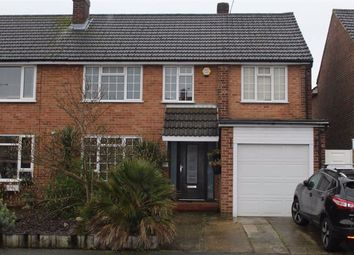 Thumbnail 4 bed semi-detached house for sale in Manor Crescent, Byfleet, West Byfleet