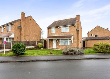 Thumbnail 3 bed detached house for sale in Hall Farm Drive, Thurnscoe, Rotherham