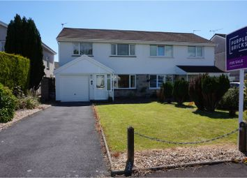 Thumbnail 3 bed semi-detached house for sale in Clos Glanlliw, Pontlliw