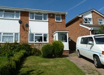Thumbnail 3 bedroom semi-detached house for sale in Palm Close, Exmouth
