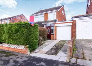 Thumbnail 3 bed detached house for sale in Oulton Close, Prenton