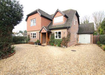 Thumbnail 4 bed detached house for sale in Brimshot Lane, Chobham, Woking, Surrey