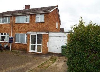 Thumbnail 3 bedroom semi-detached house for sale in Knights Close, Bozeat, Northamptonshire