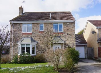 Thumbnail 4 bed detached house for sale in The Poplars, Brayton, Selby