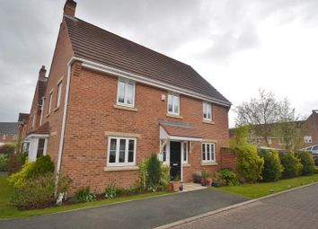 Thumbnail 4 bed detached house for sale in Rockford Gardens, Chapelford Village, Warrington
