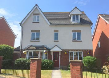 Thumbnail 5 bedroom detached house for sale in Clos Yr Wylan, Nells Point, Barry Island