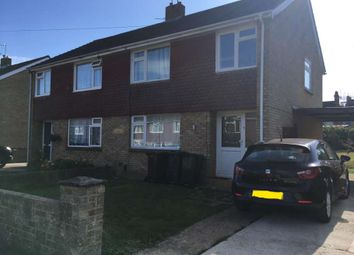 Thumbnail 3 bed semi-detached house to rent in Chichester Close, Ashford