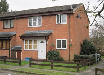 Thumbnail 1 bed end terrace house to rent in Cypress Walk, Englefield Green, Egham
