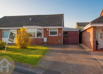 Thumbnail 2 bedroom semi-detached bungalow for sale in Gainsborough Avenue, Royal Wootton Bassett, Swindon
