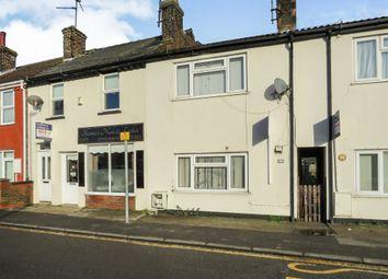 Thumbnail 2 bedroom terraced house for sale in Bridge Road, Sutton Bridge, Spalding