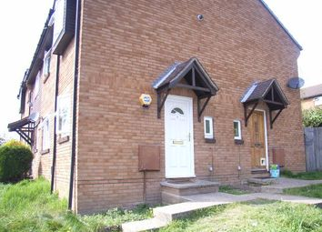 Thumbnail 1 bed end terrace house to rent in Humber Gardens, Bursledon Green, Southampton