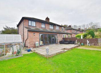 Thumbnail 4 bedroom semi-detached house for sale in Scott Avenue, Eccles, Manchester
