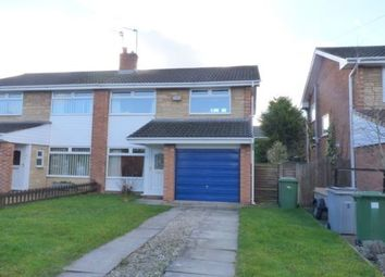 Thumbnail 3 bed semi-detached house to rent in Fulbrook Close, Spital, Wirral