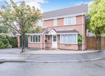 4 bed detached house for sale in Beaver Close, Whetstone, Leicester LE8