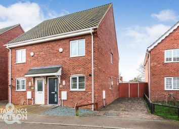 3 bed town house for sale in St. Edmunds Road, Lingwood, Norwich NR13