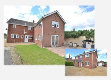 Thumbnail 5 bedroom detached house for sale in Magdalen Road, Tilney St. Lawrence, King's Lynn