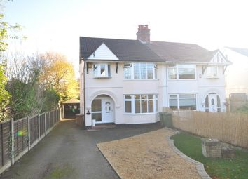 Thumbnail 3 bed semi-detached house for sale in Barnston Road, Heswall, Wirral