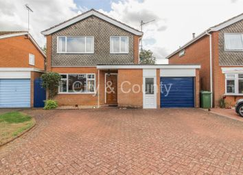 Thumbnail 4 bedroom detached house for sale in Bradwell Road, Longthorpe, Peterborough