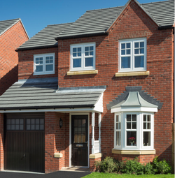 Thumbnail 3 bed detached house for sale in The Rufford 2, William Nadin Road, Swadlincote, Derby