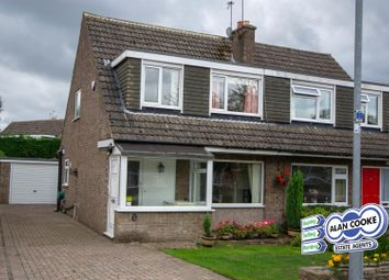 Thumbnail 3 bed semi-detached house for sale in Plantation Avenue, Shadwell, Leeds