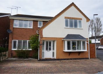 Thumbnail 5 bedroom detached house for sale in Equity Road East, Earl Shilton