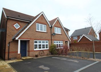 Thumbnail 3 bed semi-detached house for sale in Corrib Road, Nuneaton