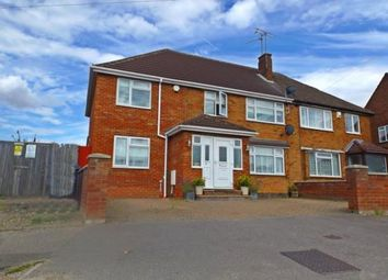 Thumbnail 6 bed semi-detached house for sale in Tenth Avenue, Luton, Bedfordshire