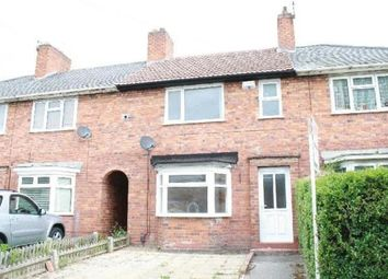 Thumbnail 3 bed terraced house to rent in Perry Common Road, Birmingham, West Midlands