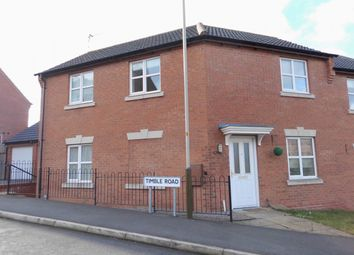 Thumbnail Semi-detached house to rent in Timble Road, Hamilton, Leicester