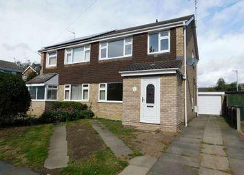 Thumbnail 3 bed semi-detached house to rent in Worthington Close, Stilton