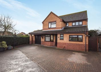 Thumbnail 4 bed detached house for sale in Charles Melrose Close, Mildenhall, Bury St. Edmunds
