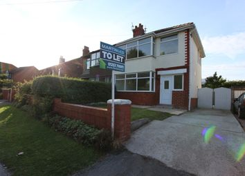 Thumbnail 3 bed semi-detached house to rent in Mythop Road, Blackpool