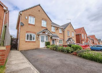 Thumbnail 3 bed town house for sale in Burley Close, Skelton-In-Cleveland, Saltburn-By-The-Sea