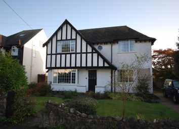 Thumbnail 4 bed detached house to rent in Livonia Road, Sidmouth