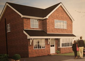 Thumbnail 4 bed detached house for sale in Hellyar-Brook Road, Alsager, Stoke-On-Trent